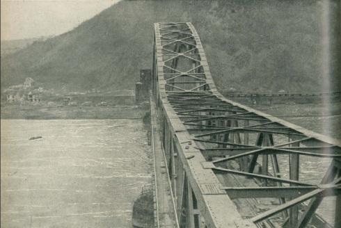 Ludendorff Bridge before the collapse