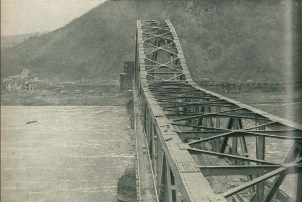 Ludendorff Bridge before the collapse