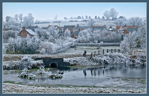 Frosty Collingbourne Kingston (by Anguskirk on Flickr)