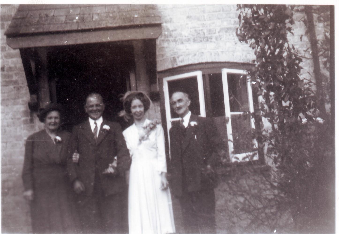 Norah & Eddie's Wedding, 1949