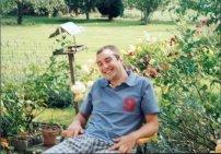 Me, again in France, c.2004