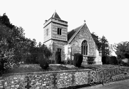 Holy Trinity, Easton Royal.  (Francis Frith Collection)