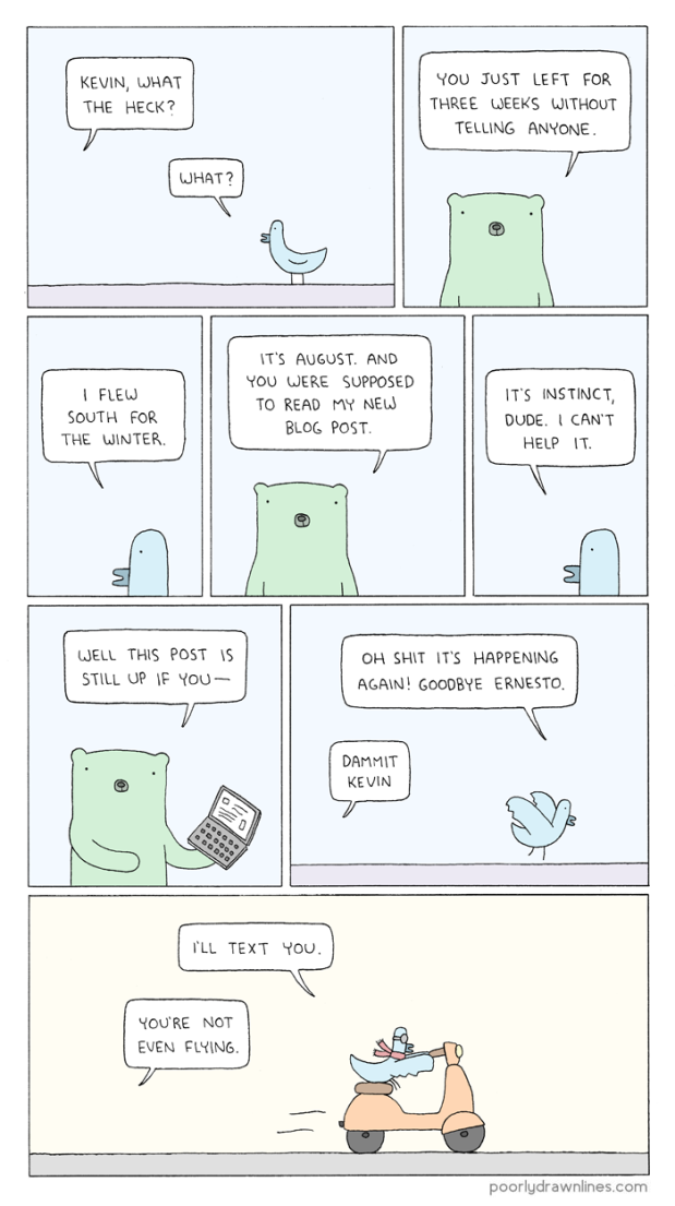 Poorly Drawn Lines was never so true ...