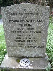 Gravestone of Eddie and Norah