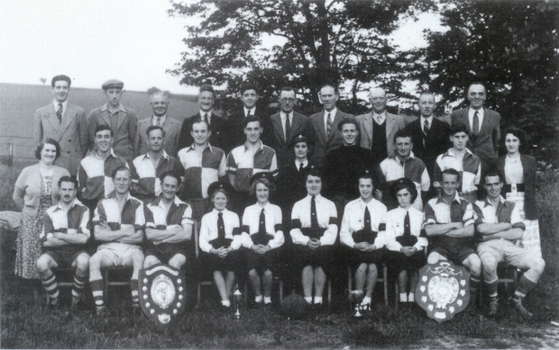 Eddie, back row, second from left