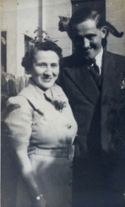 James and Winifred Joyce (complete with shoulder cat!)