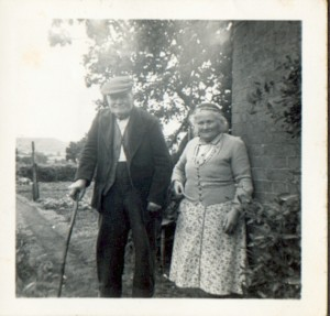 Alfred & Harriet Hurcombe, near Devizes