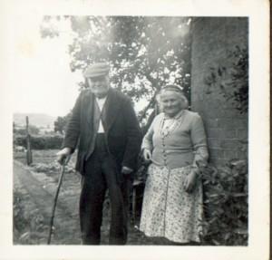 Alfred & Harriet Hurcombe, near Devizes