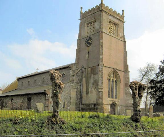 St. Mary's church, Collingbourne Kingston. © Graeme Harvey