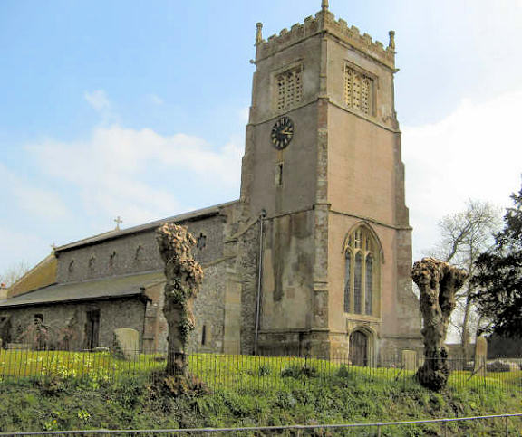 St. Mary's church, Collingbourne Kingston. © Graeme Harvey