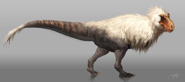 Fluffy Rex by arvalis on deviantart.